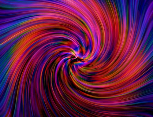 Die kosmischen Farben bergen ein heilsames Potential